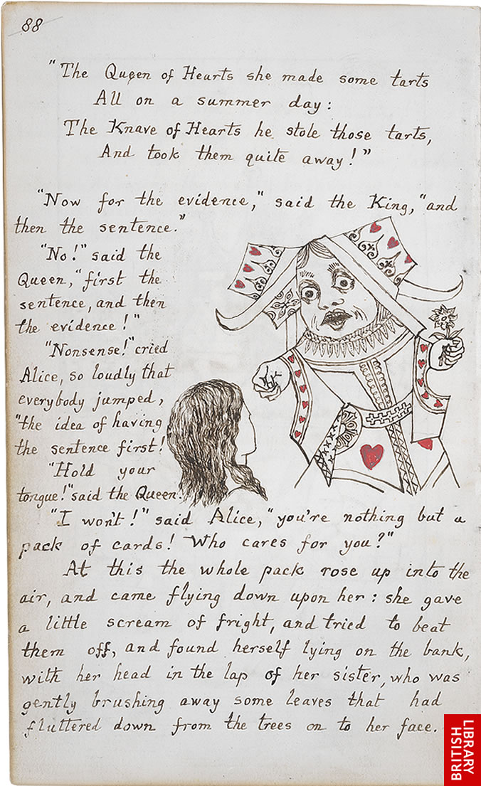 Alice's Adventures In Wonderland Lewis Carroll illustrations original