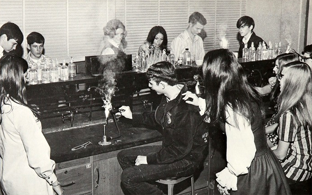 science class 1970s