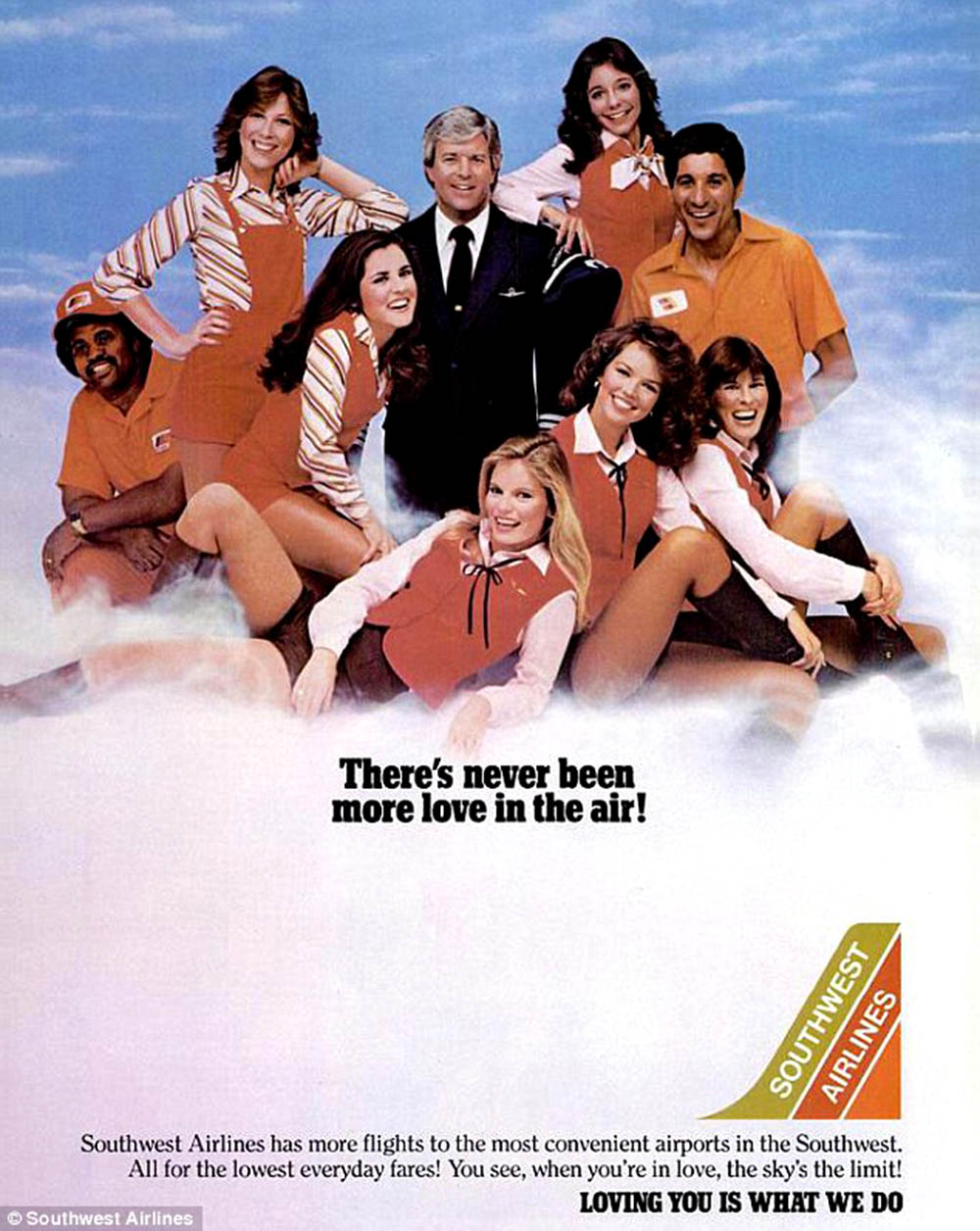 southwest airline vintage ad