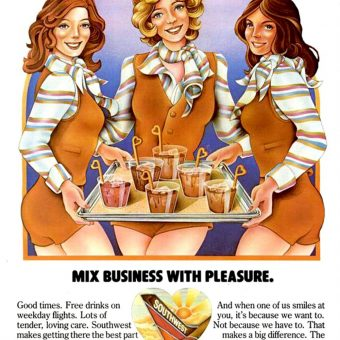 Sex Sells Seats: Vintage Airline Advertising