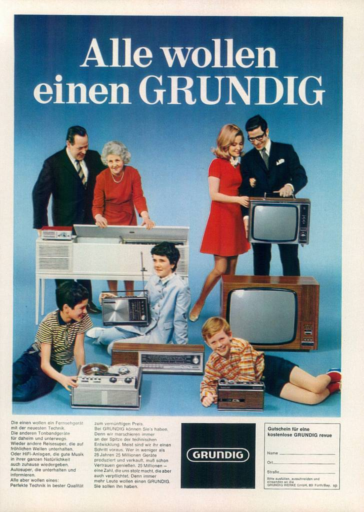 Tv Set Ad Flashbak