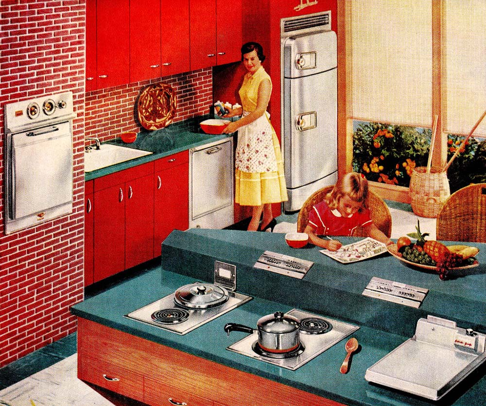 Vintage Kitchen 2