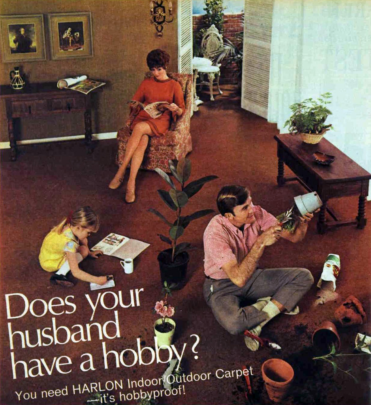 1968 carpet advert