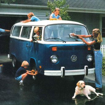 Vintage Images of People & Their Beloved Volkswagen Buses