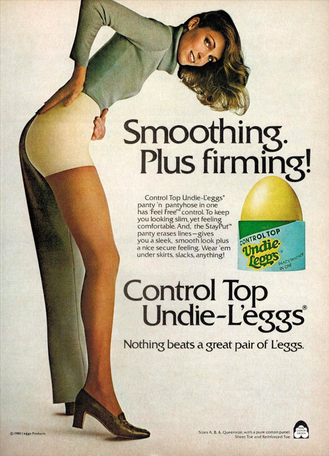 1980 pantyhose advert