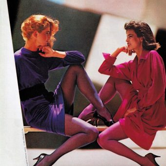 Hosiery to the Max! Totally 80s Legwear Advertising