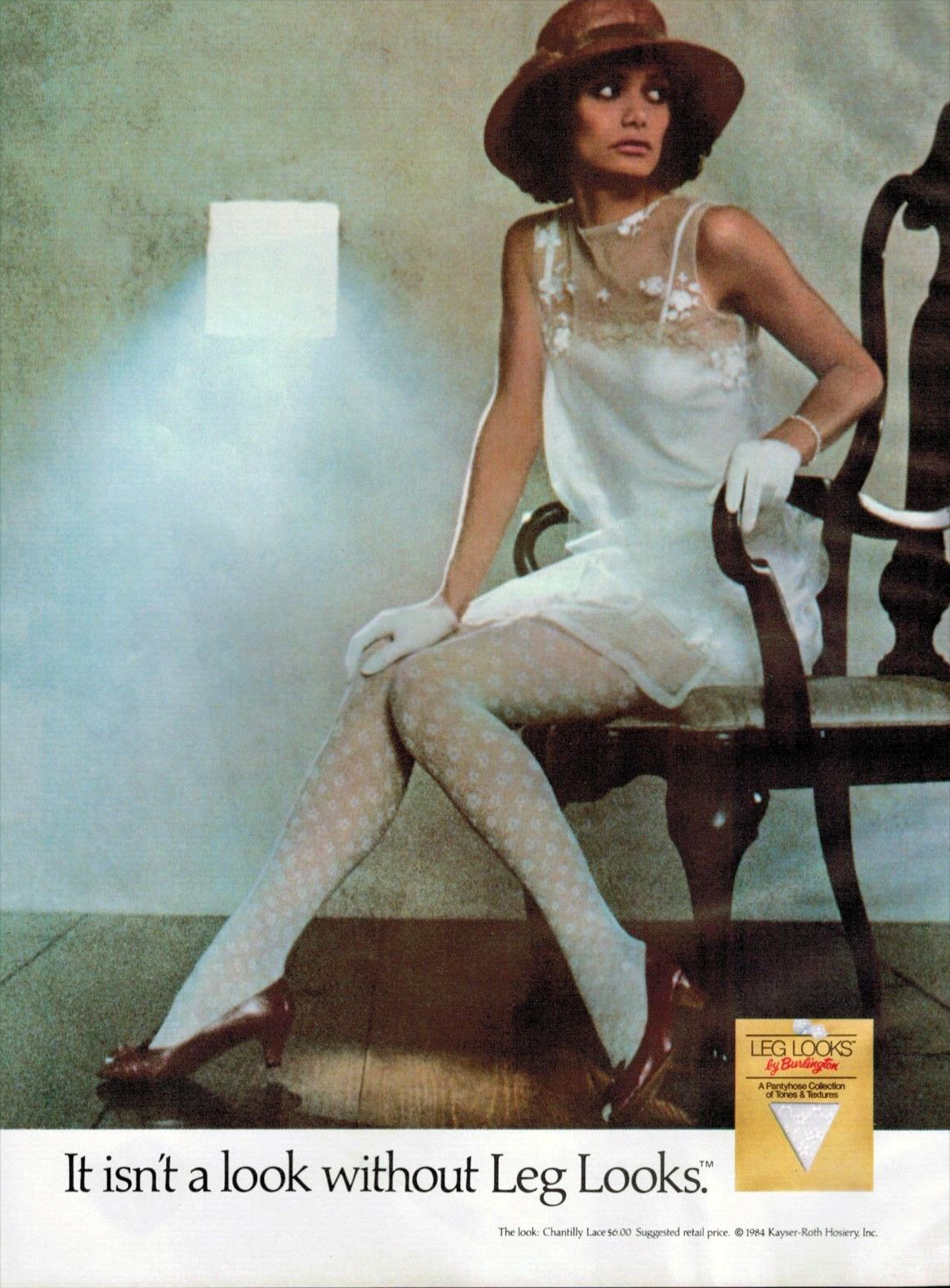 1984 hosiery advert
