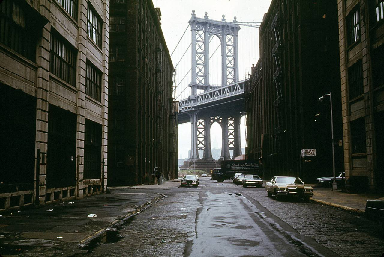 Brooklyn by the East River New York. 1974