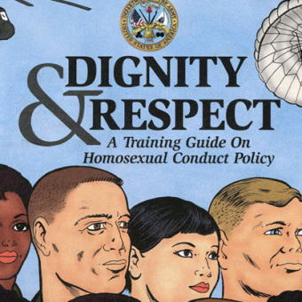 The US Army's Official 'Don't Ask Don't Tell' Homosexual Policy Comic Book (2001)