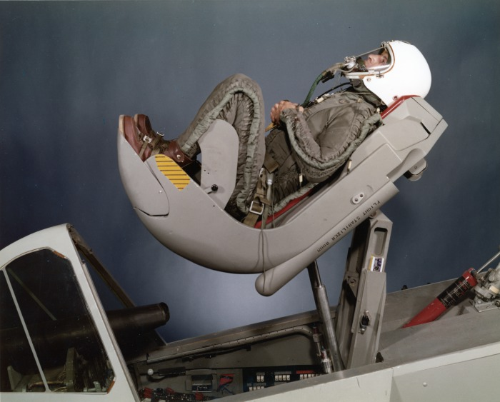 Ejector seat testing Convair