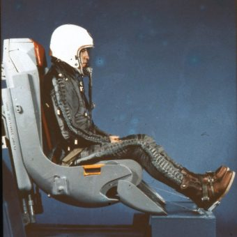 Testing Ejector Seats In The 1950s