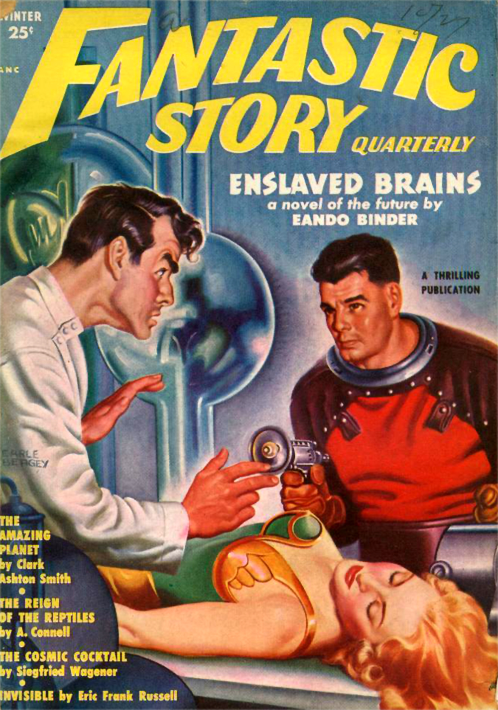 FANTASTIC STORY QUARTERLY-WINT 1951