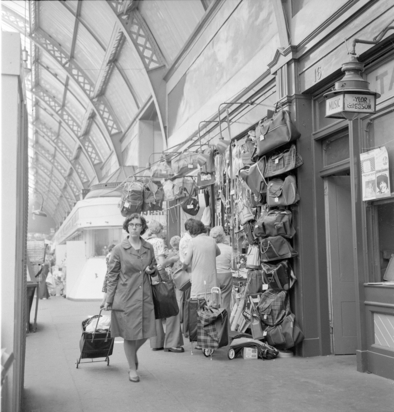 Grainger Market 1970s newcastle