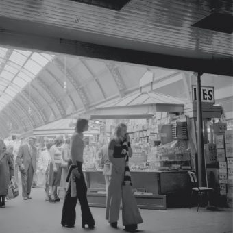 Pictures of Grainger Market, Newcastle upon Tyne in the 1970s and 1980s