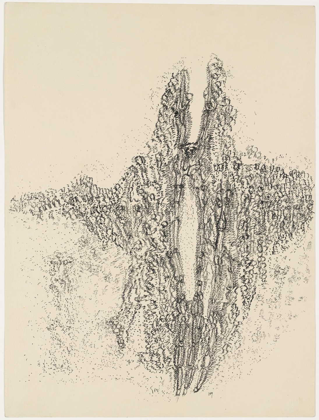 Henri Michaux Mescaline Drawing (1960)