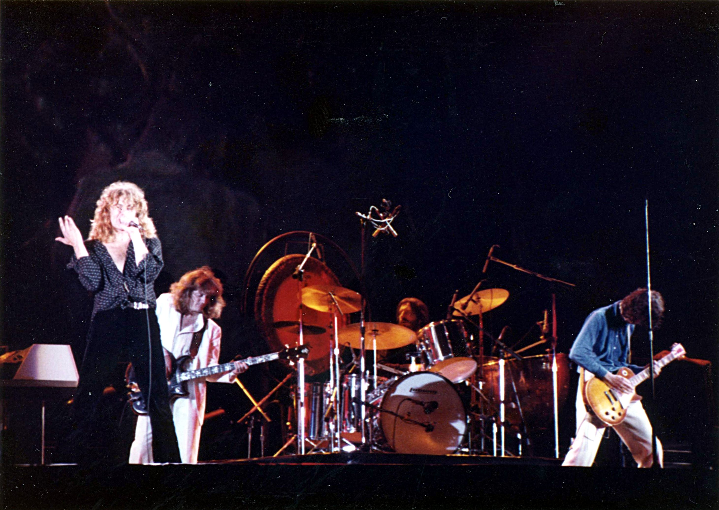 Snapshots Of Led Zeppelin At Knebworth August 4th 1979