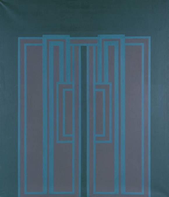 Life Line I 1963 Robyn Denny born 1930 Purchased 1965 http://www.tate.org.uk/art/work/T00740