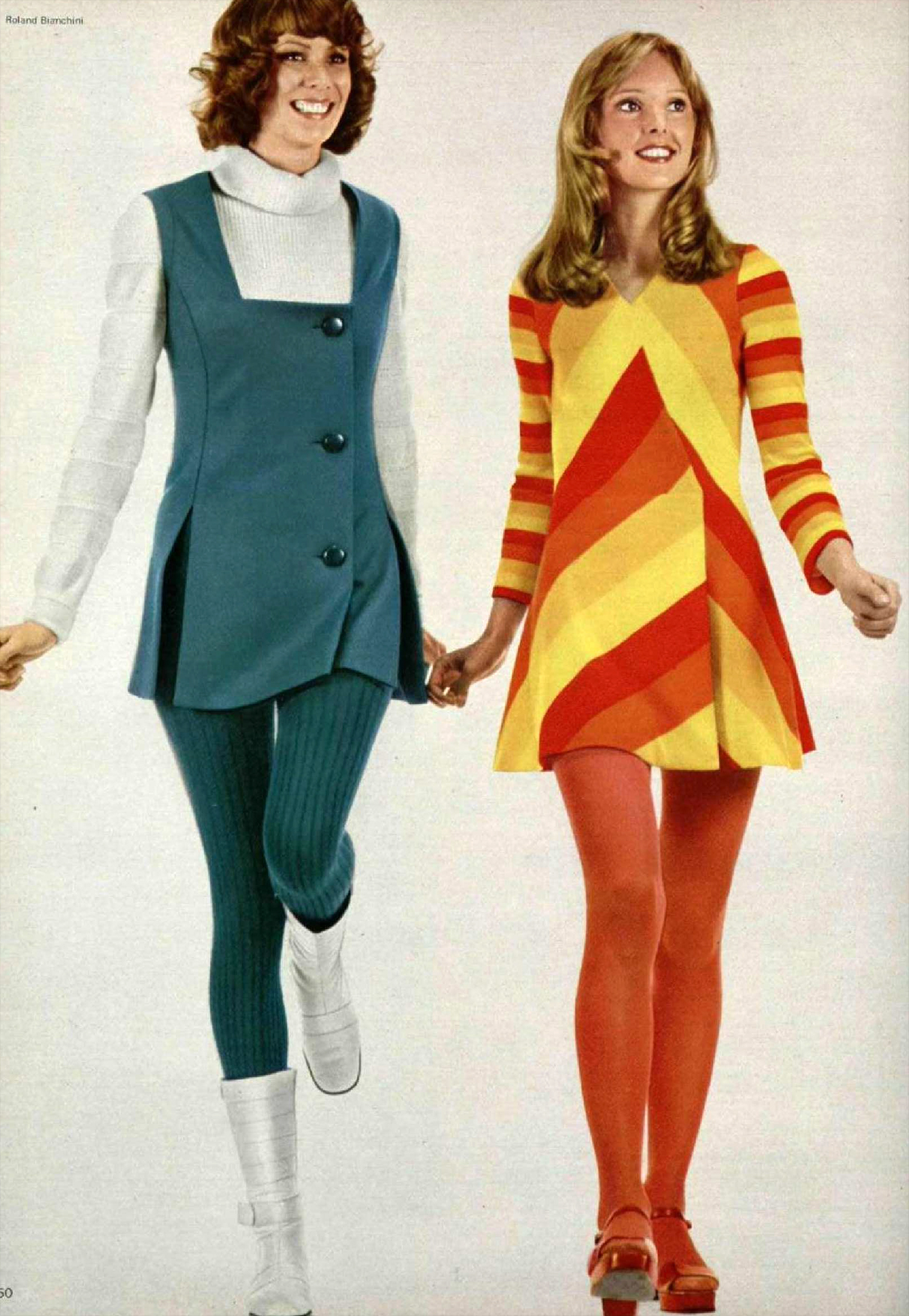 French Fashion '71: Stunning Women's Styles From 1971