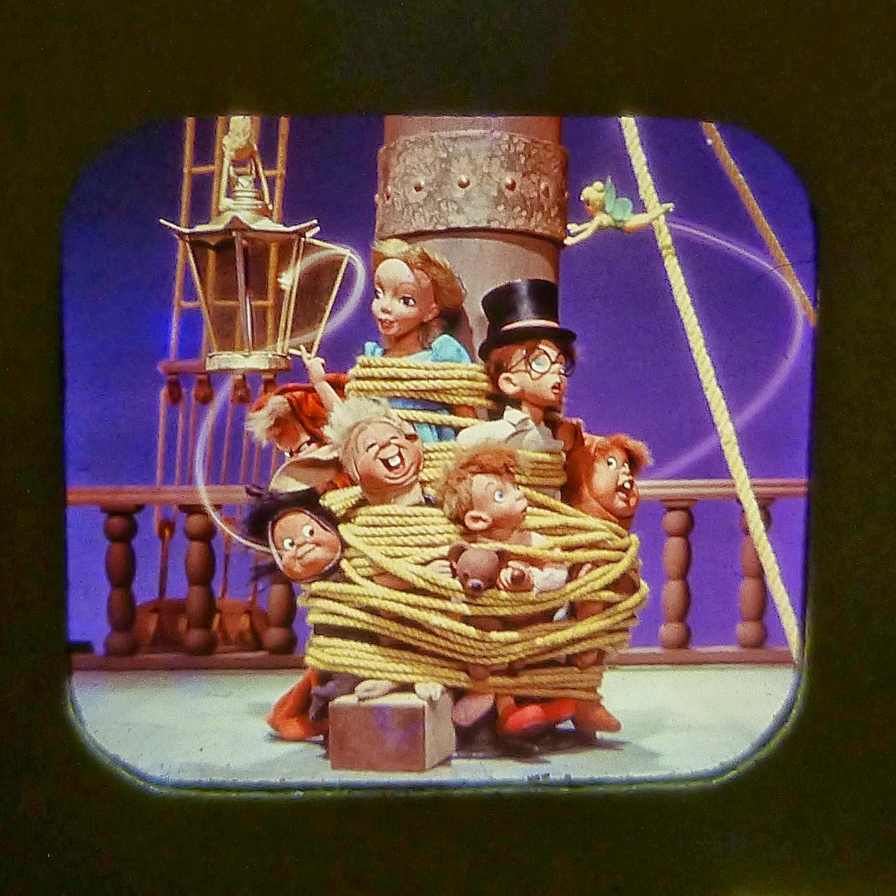 PETER PAN VIEW MASTER SCANS