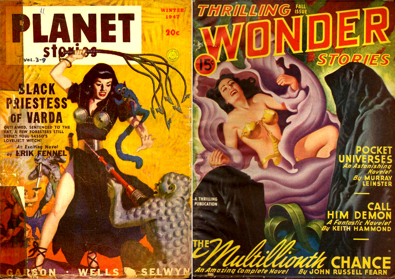 PLANET STORIES-WINT 1947