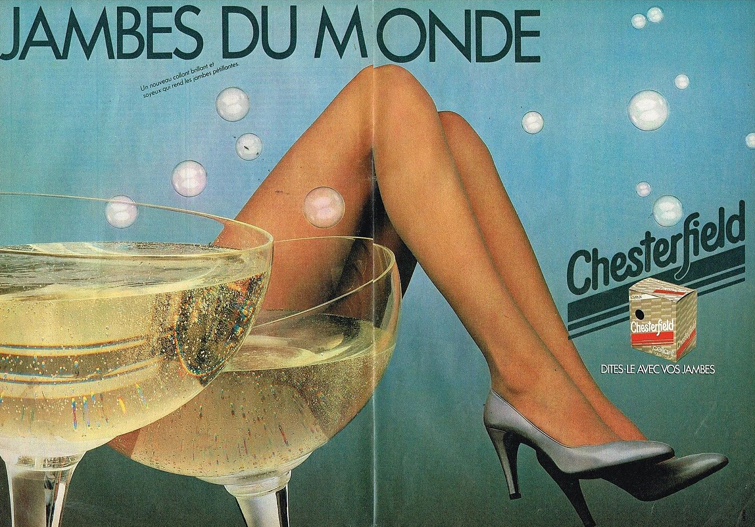 Publicité Advertising 1981 Les Bas et collants Chesterfield