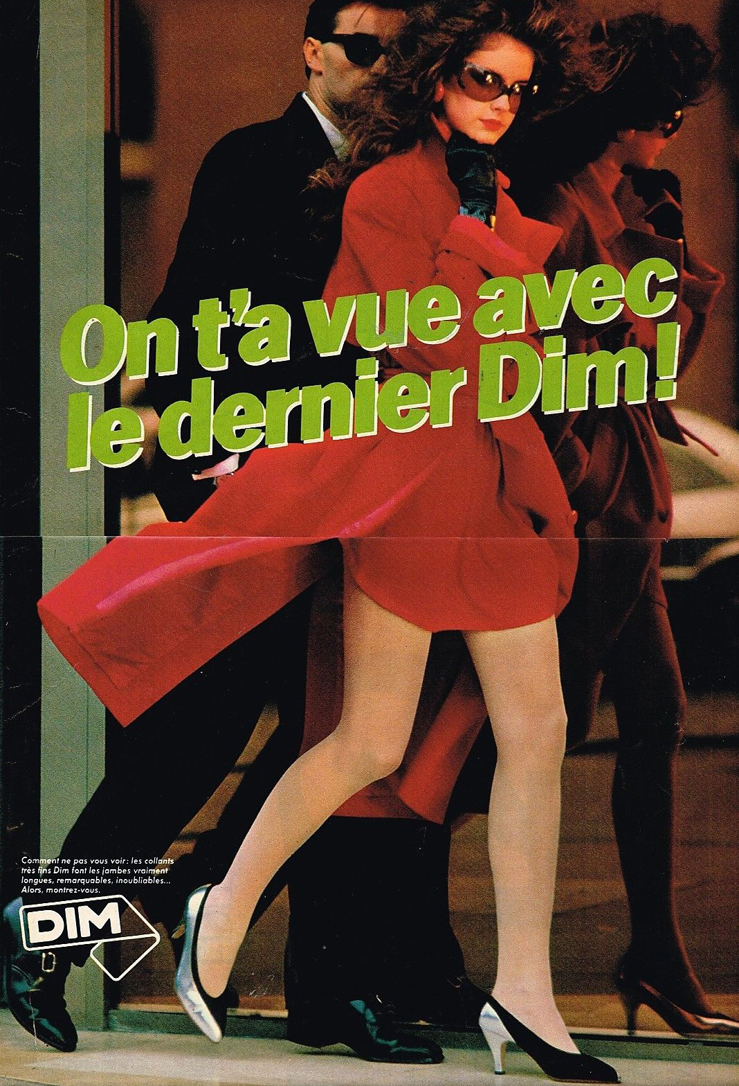 Publicité Advertising 1981 Les Collants et bas DIM