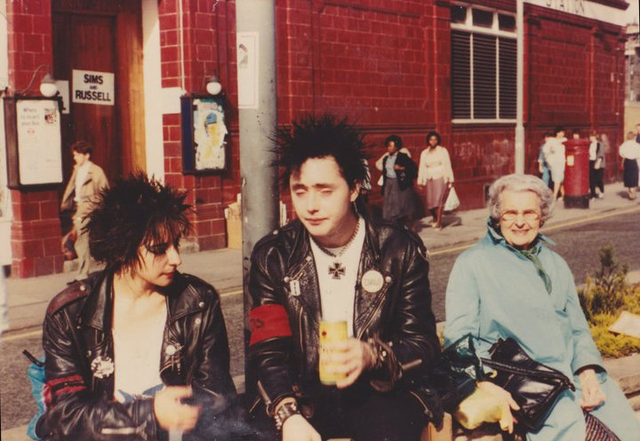 marseilles punks in france and london 1980s flashbak