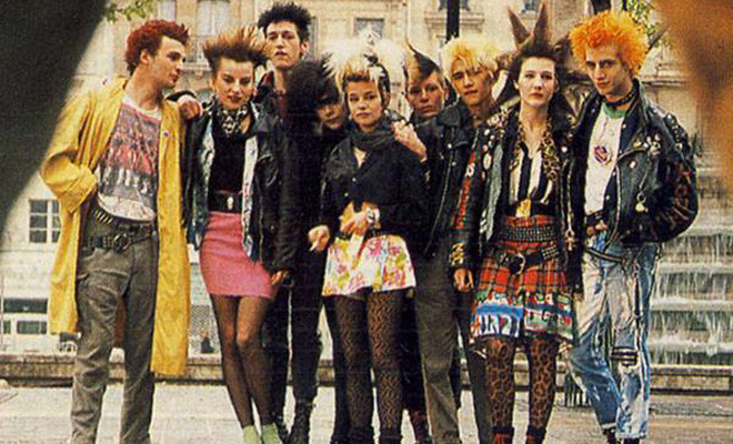 Marseilles Punks In France And London (1980s) - Flashbak