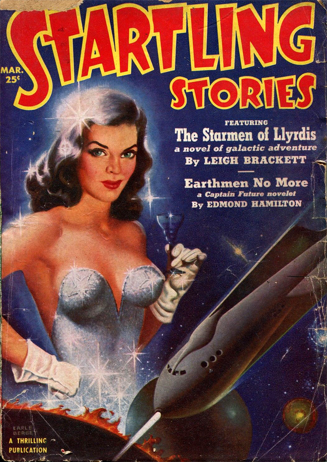 Startling Stories Pulp March 1951
