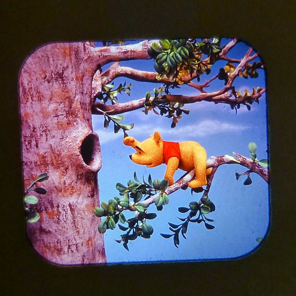Winnie The Pooh And The Honey Tree View Master Scans 4