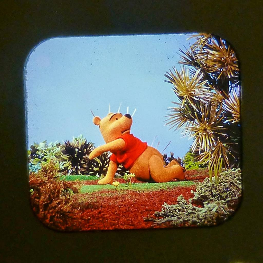 Winnie The Pooh And The Honey Tree View Master Scans 5