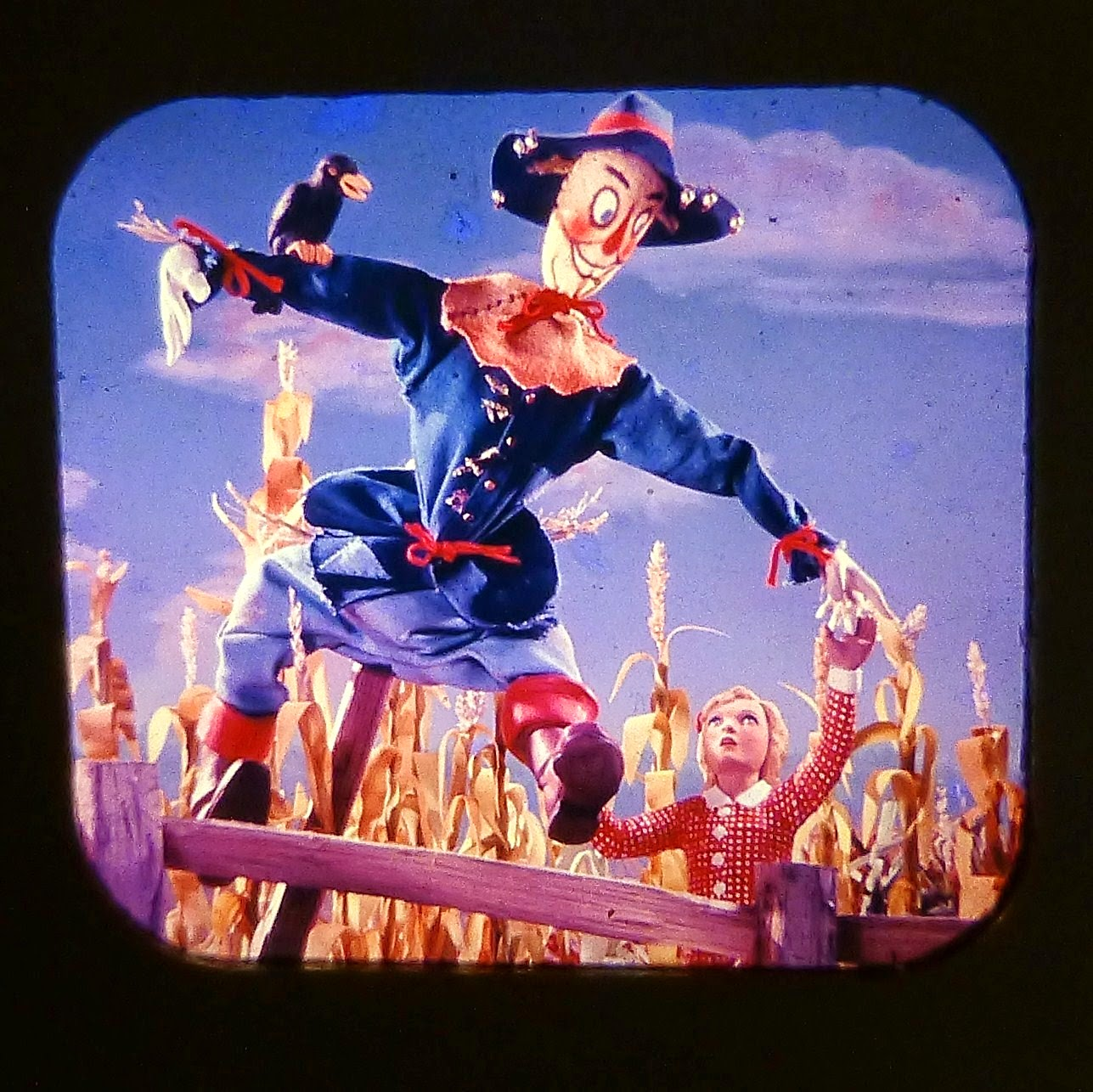 WIZARD OF OZ VIEW MASTER SCANS