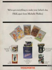 Woolworths Ad from Just Seventeen magazine, June 1992