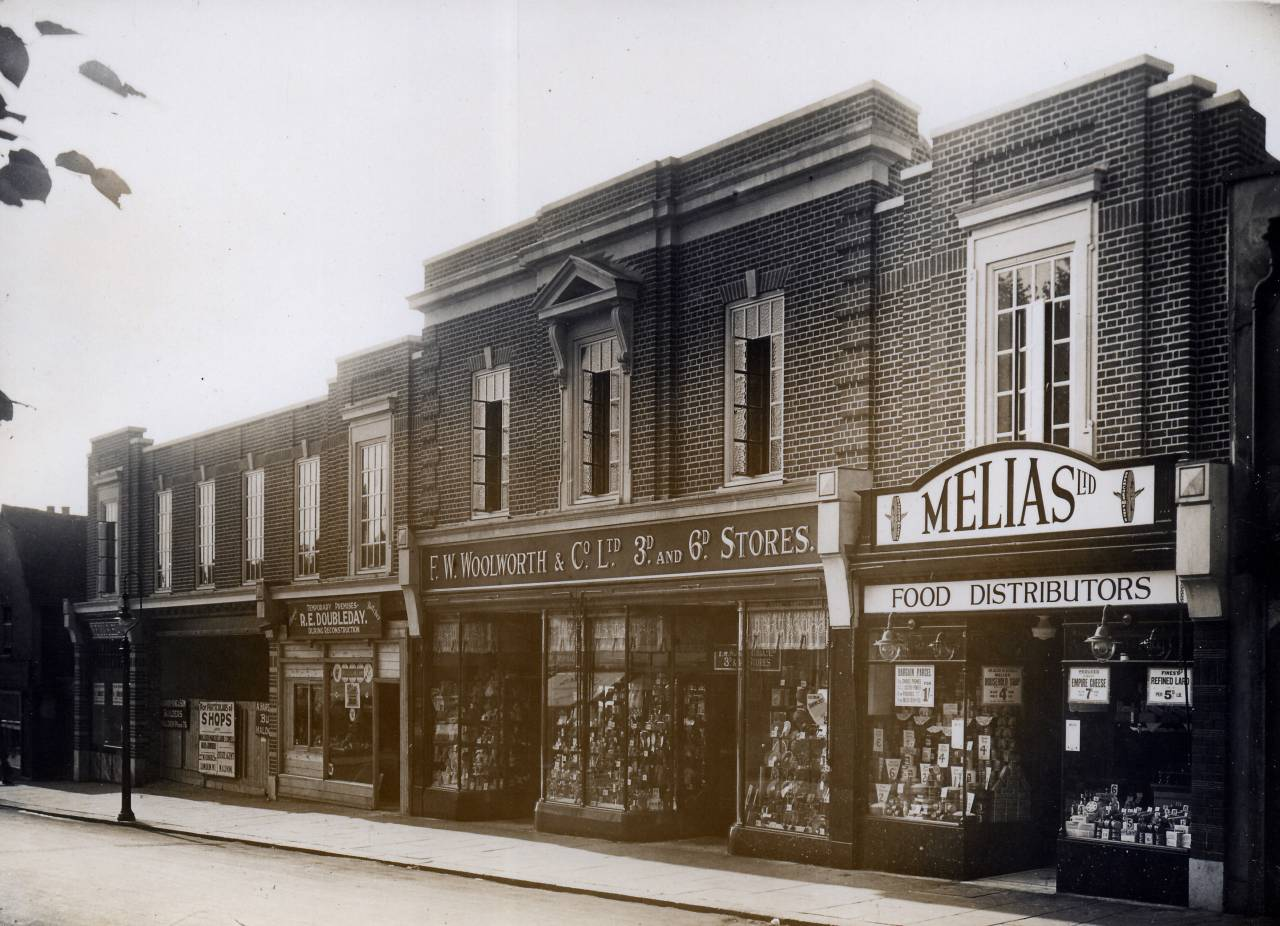 Woolworths in Maldon, June 1932