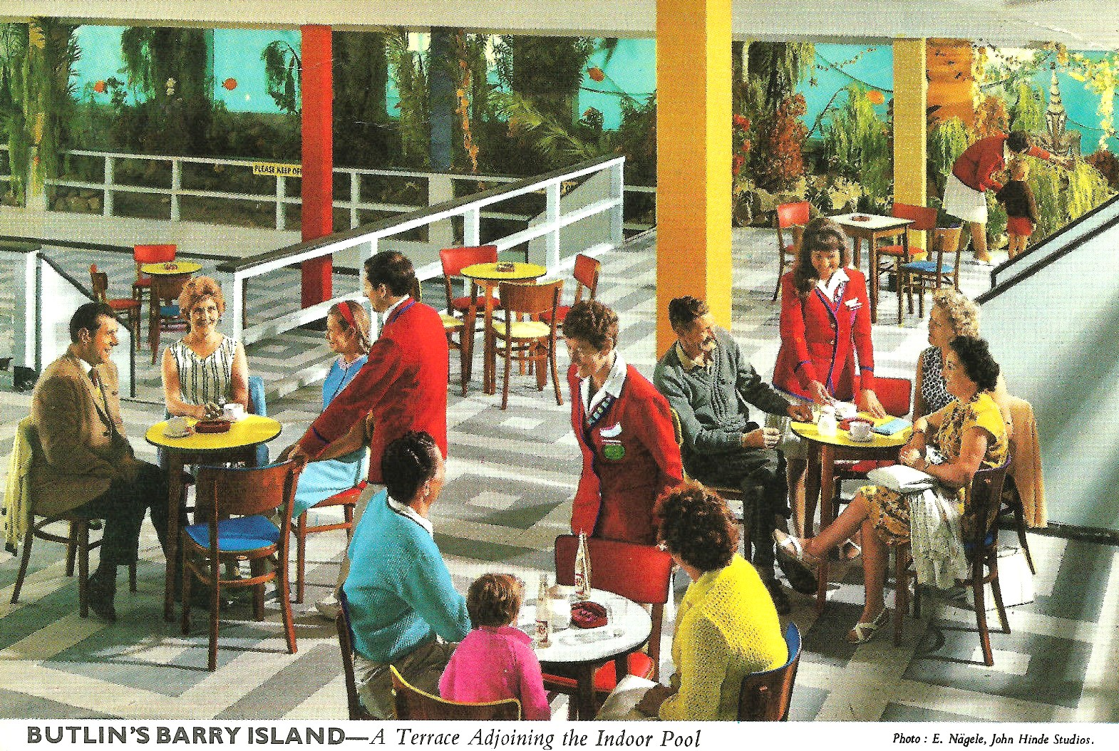 Butlins Barry Island John Hinde