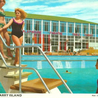 Twenty Brilliant John Hinde Postcards of the Barry Island Butlins
