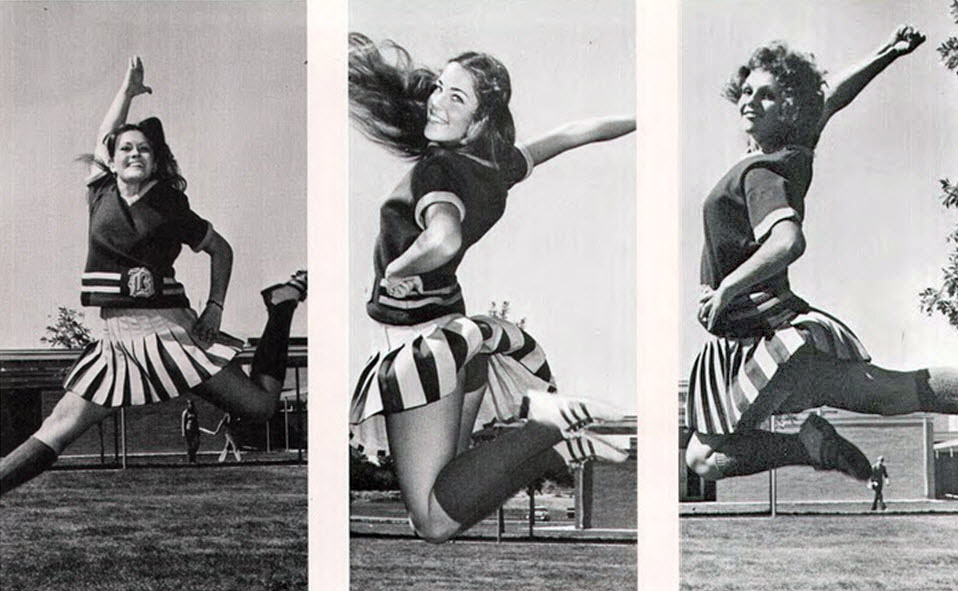 cheerleader vintage