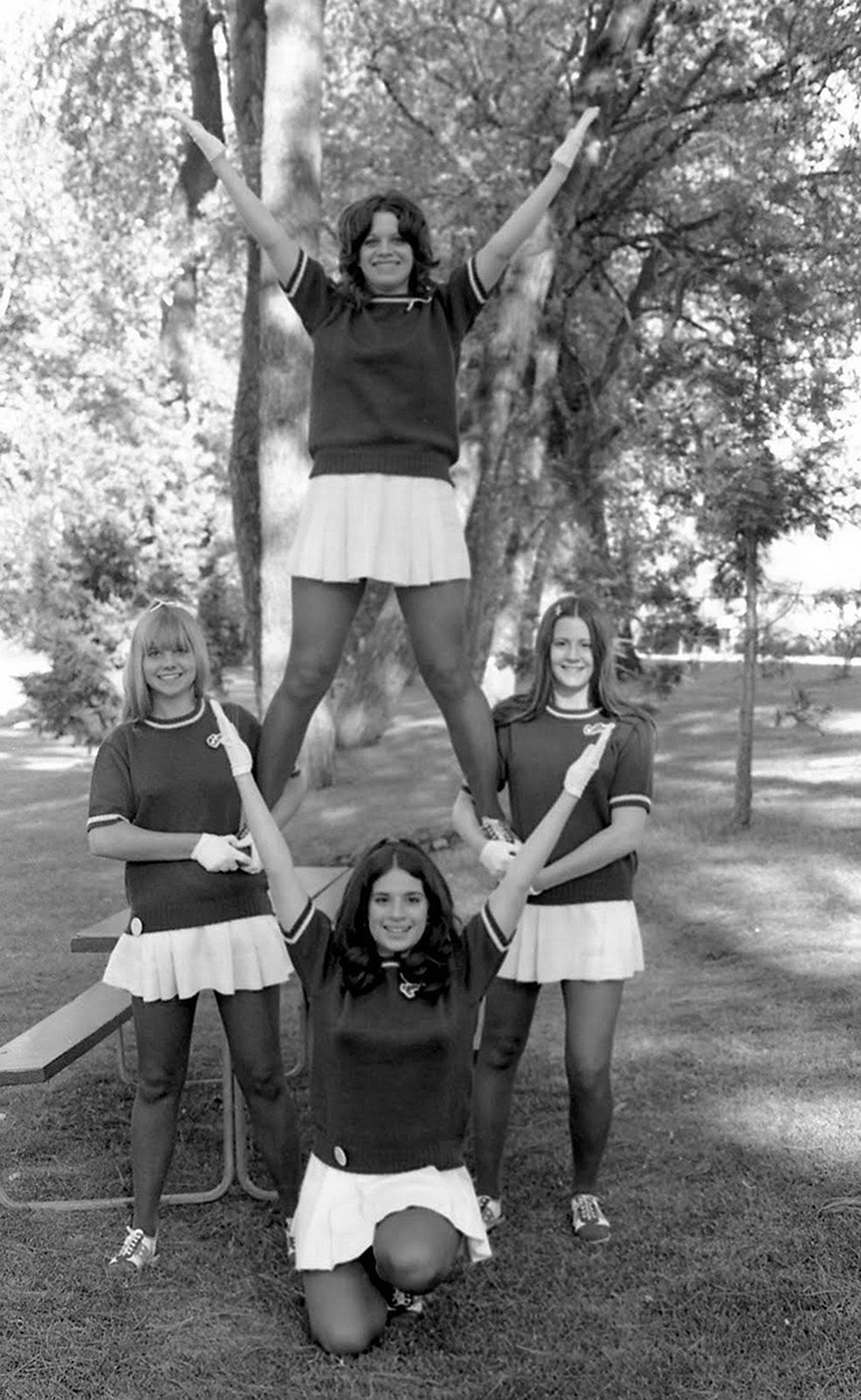 cheerleaders 1970s