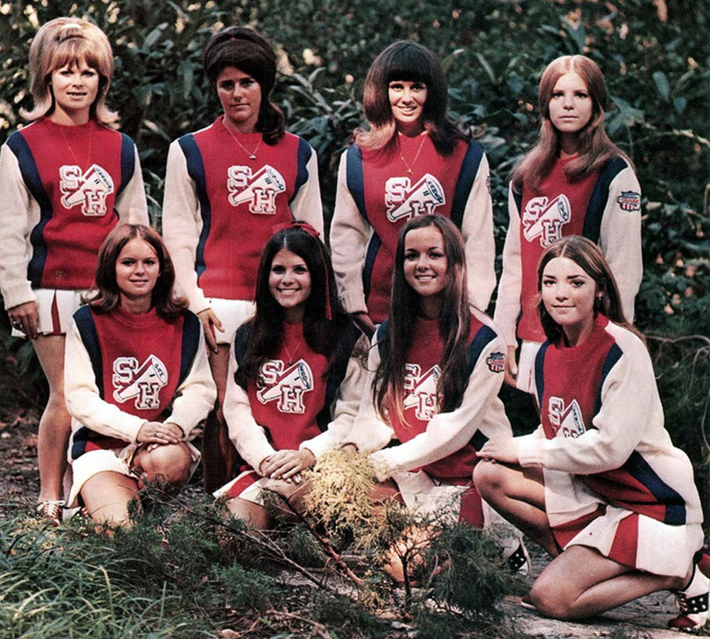 cheerleaders retro