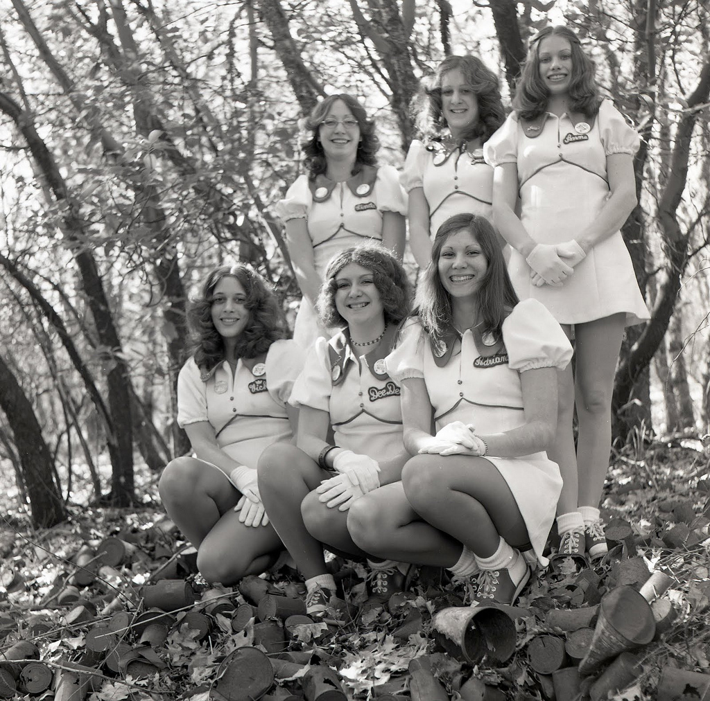 cheerleaders vintage