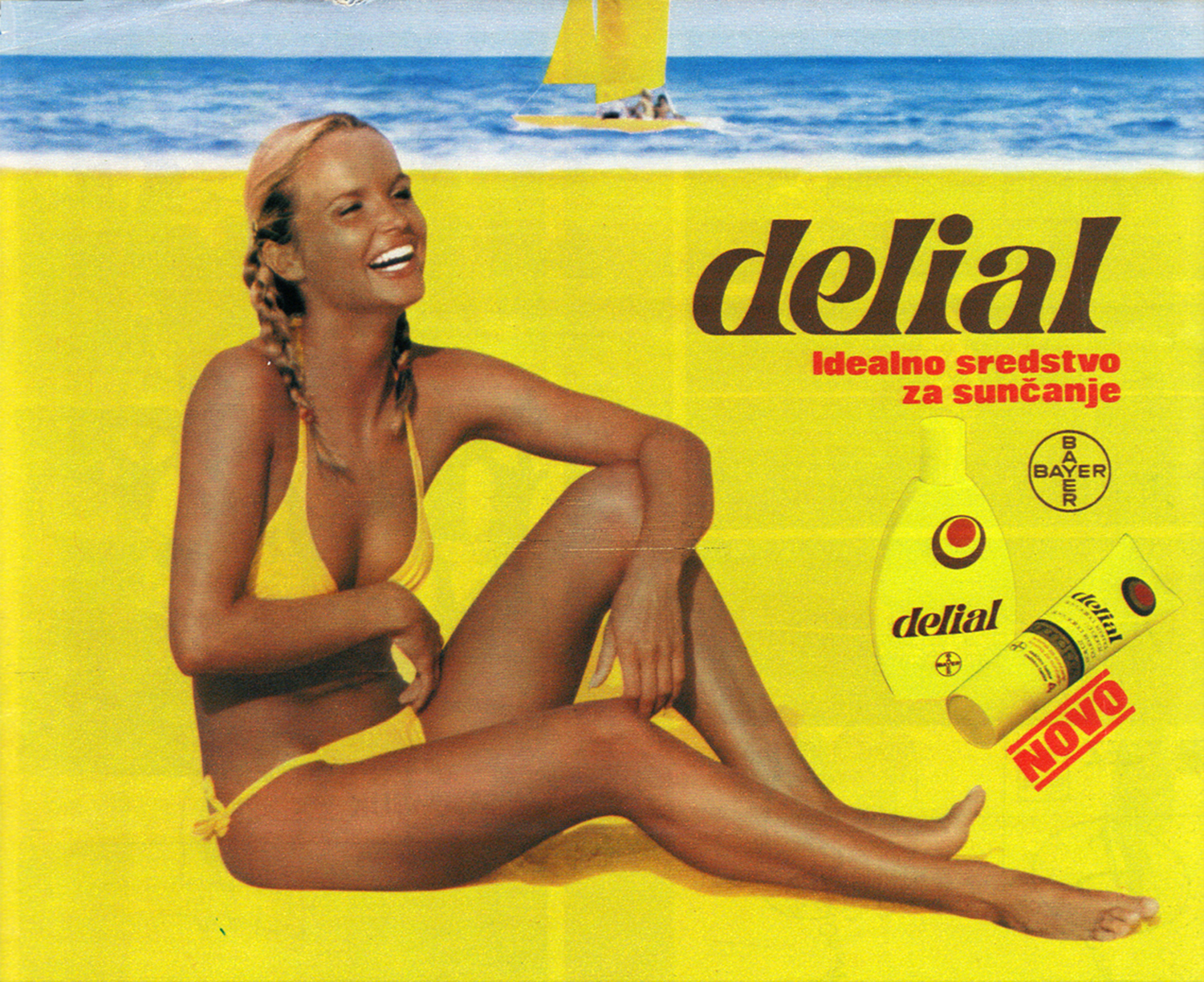 delial sun tan advert
