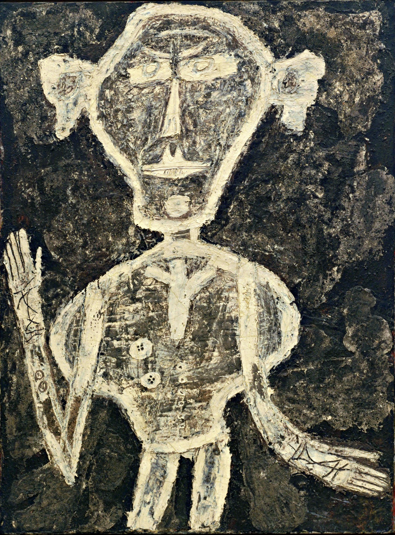Jean Dubuffet Portrait of Henri Michaux January 1947