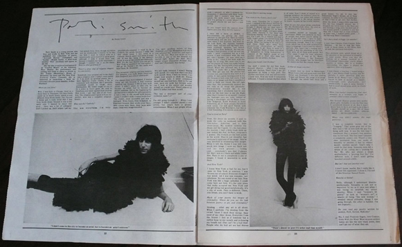 pattii smith 1973 magazine