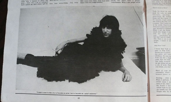 patti smith interview warhol penny green