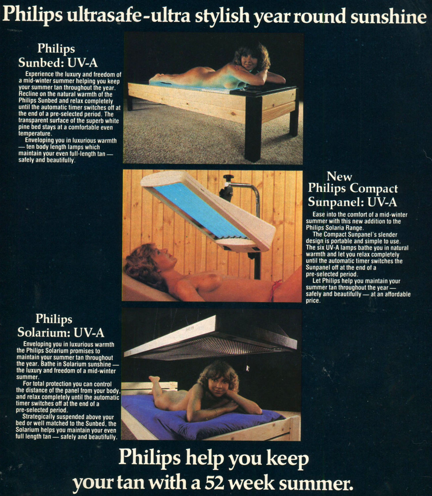philips sunlamp ad