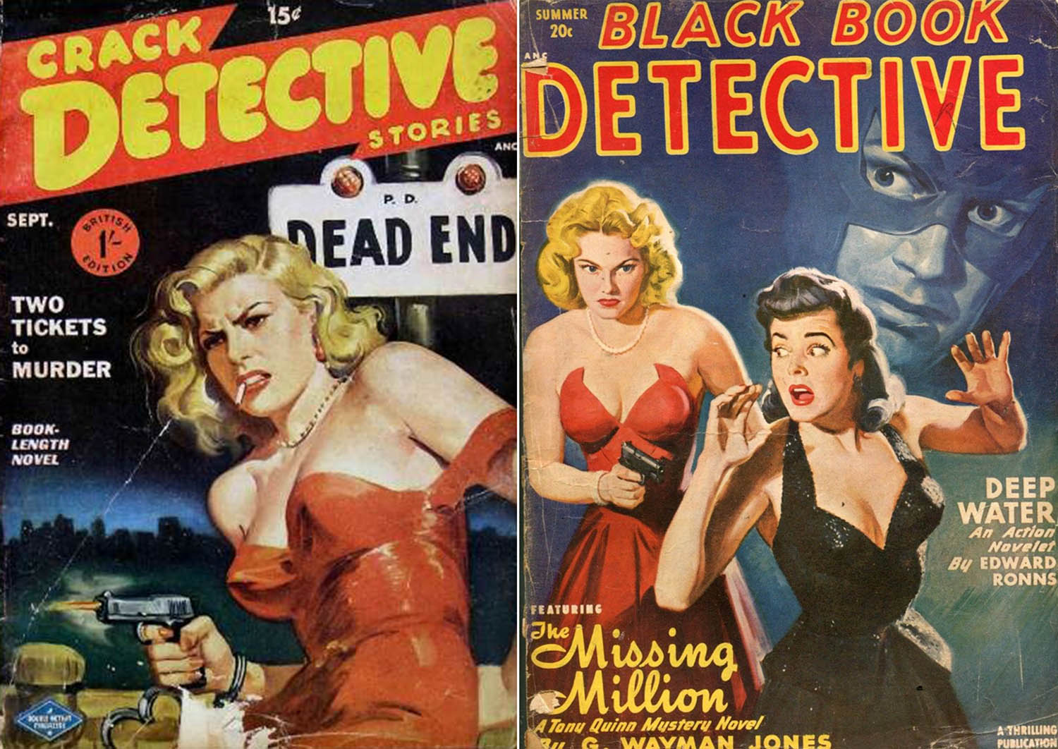 pulp fiction red dress cover