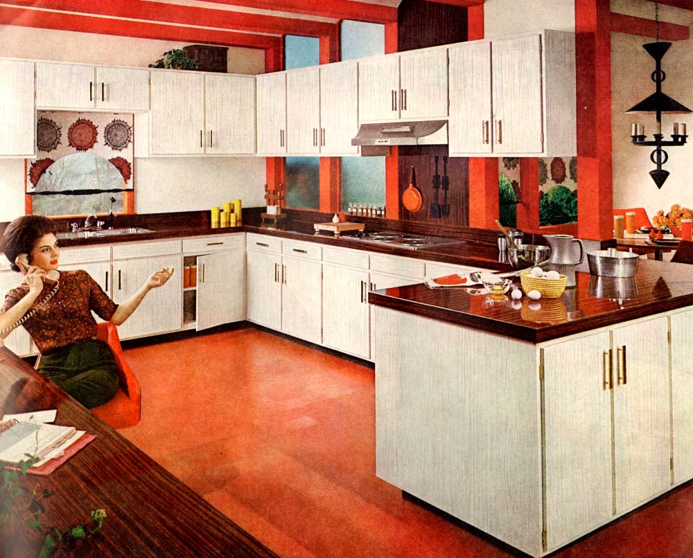 30 Vintage Kitchens From Atomic Age To Disco Era Flashbak