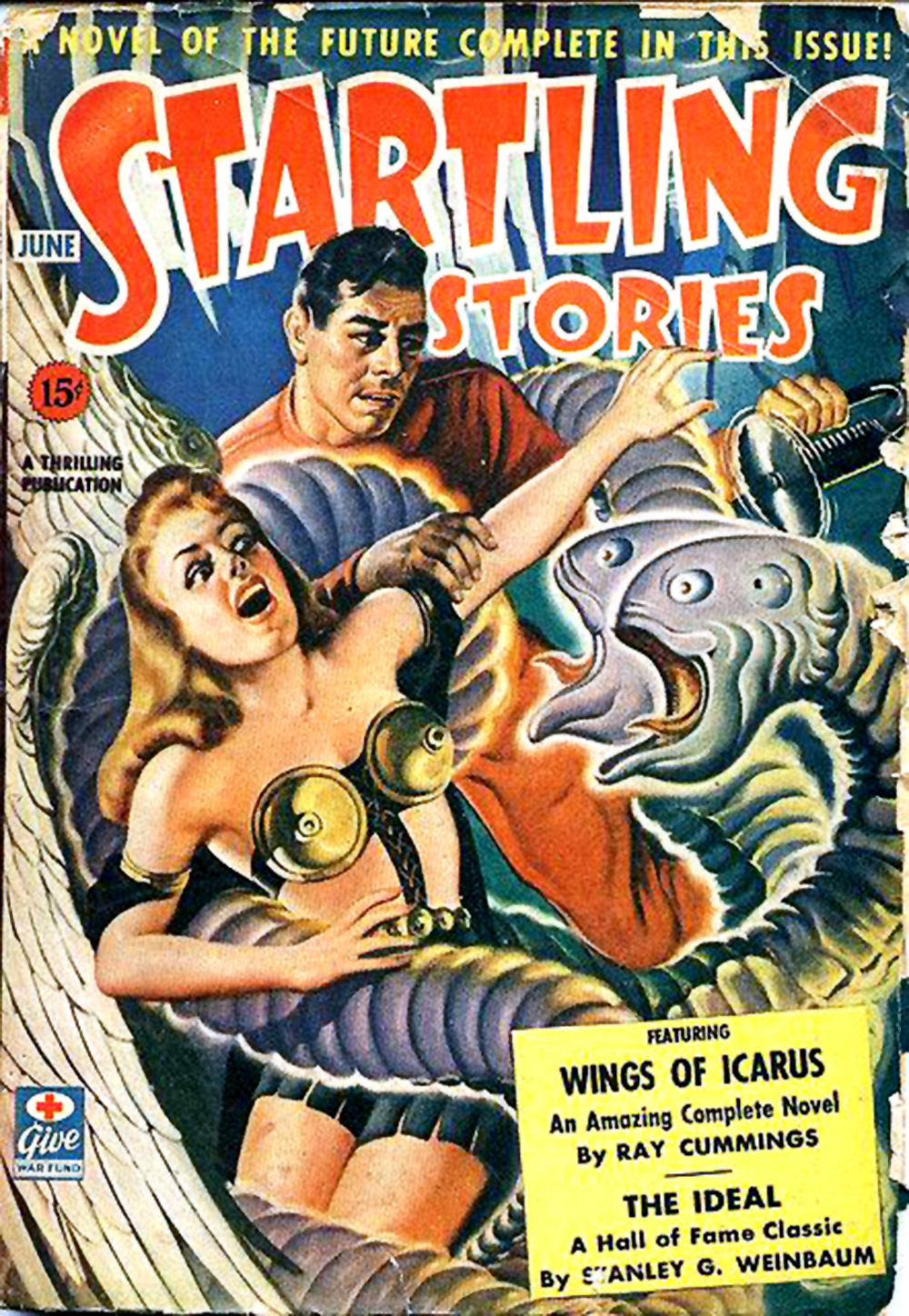 startling stories cover