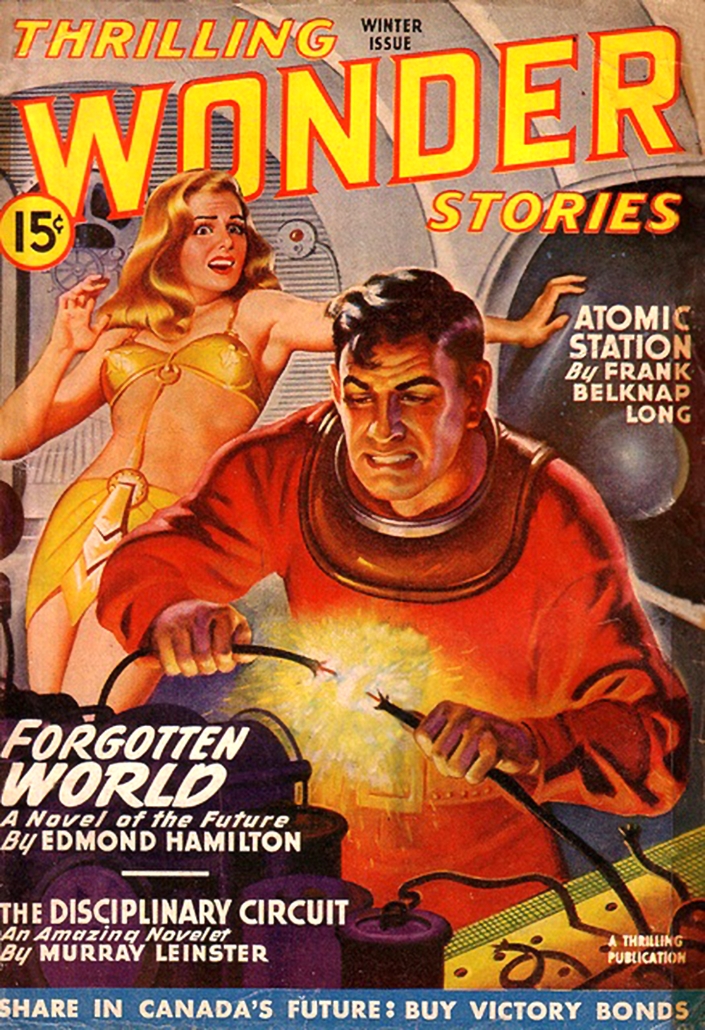 thrilling wonder stories cover