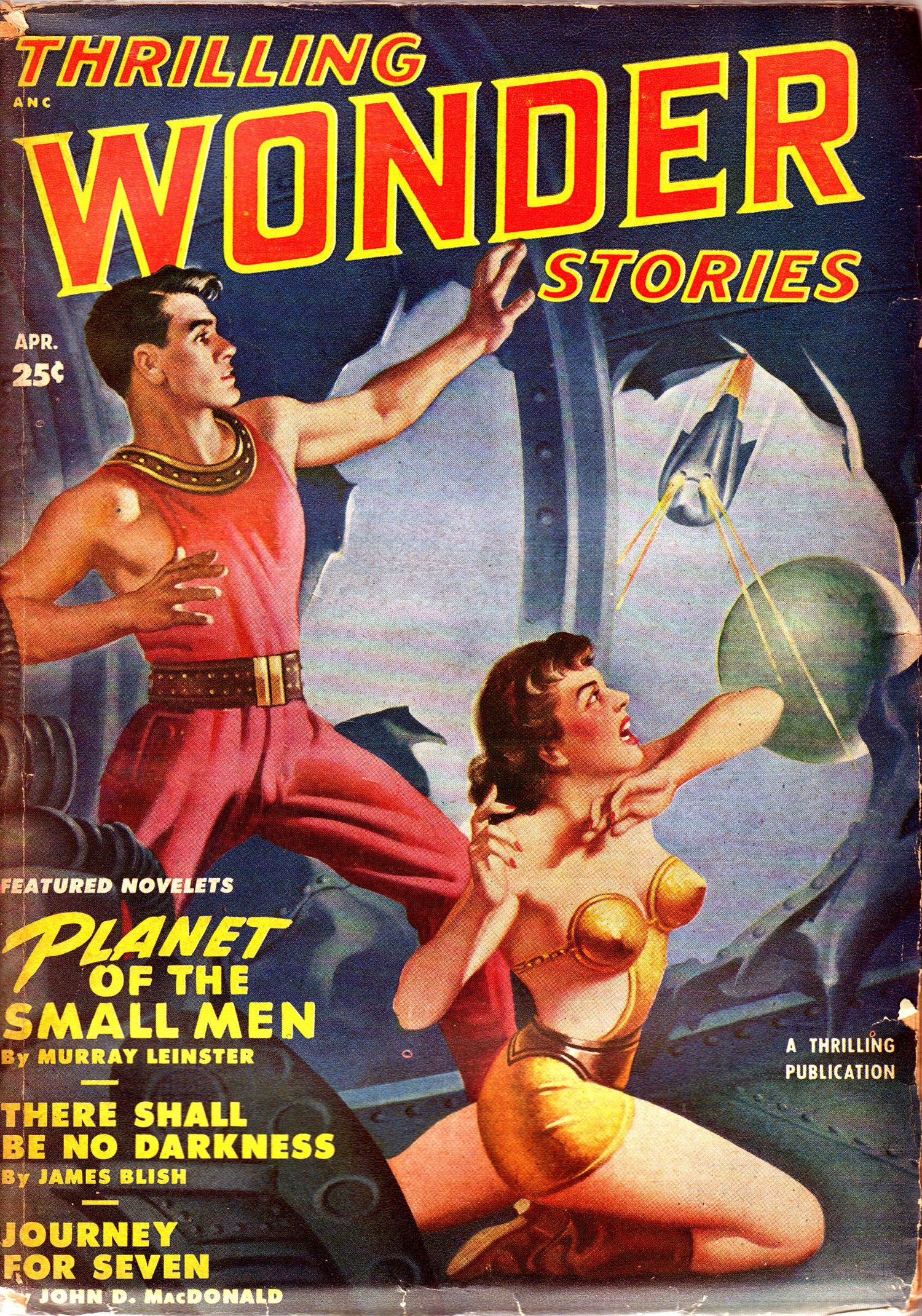 thrilling wonder stories pulp cover